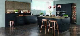 black is die tollsten gestaltungsideen für schwarze küchen