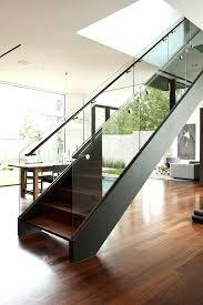 black staircase black stair railing tempered glass staircase railing staircase
