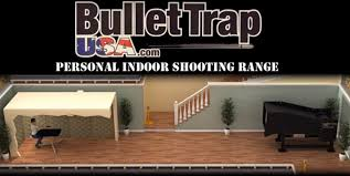personal indoor gun range from bullet trap usa the firearm