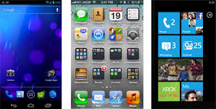 difference between iphone and android android 4 0 ios 5 and windows phone 7 5 in comparison