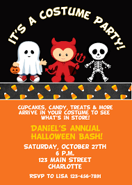 fabulous scary halloween party invitation wording with scary