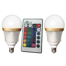 Rgb Led Light Bulb With Remote by Best Ljy 2 Pack E12 Candelabra Base 3w Rgb Led Light Remote