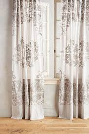 embroidered border curtain room apartments and living rooms
