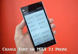 how to change the font on android how to change font on xiaomi miui 8 android phones xiaomi advices