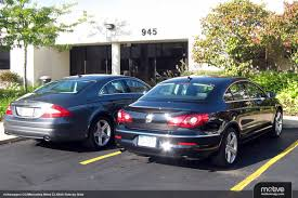 mercedes volkswagen vwvortex com volkswagen cc mercedes cls separated at birth