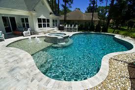 bluffton residental pool design photos charleston pool design