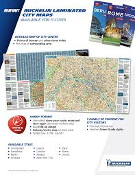 Map Of Barcelona Michelin Barcelona City Map Laminated Michelin Street Map