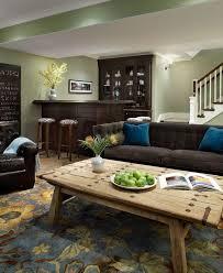 imaginative small finished basement basement traditional with bar