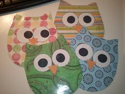 Owl Theme by Second Grade Nest Making Scrapbook Owls