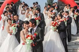 wedding china wedding ceremony held in beijing china news sina