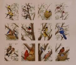 cotton fabric home decor quilt bird