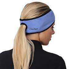 headband ponytail trailheads women s ponytail headband blue