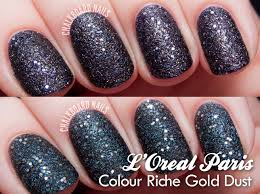 l u0027oreal paris colour riche gold dust in sequins and hidden