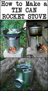 the steps in making a tin can rocket stove are very easy that it u0027s