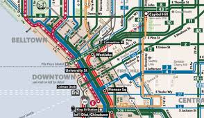 Seattle Map Downtown by Avoiding Information Overload While Mapping Seattle U0027s New