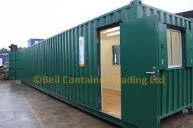 converted shipping container in 40ft shipping container