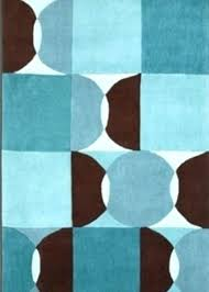 Blue And Brown Bathroom Rugs Brown And Blue Rug Tapinfluence Co