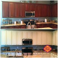 how to paint kitchen cabinets antique look antique white kitchen cabinet makeover antique white