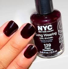 nyc plaza plumberry nail polish u0027vanessa jhoy blog