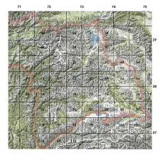Grid Map Russian Army Maps Of The Pamir Meta Murghab Eco Tourism