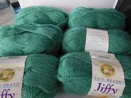 3 skeins variegated yarn 4 ply olive green white landau acrylic