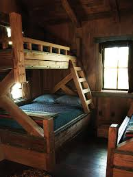 30 cozy rustic kids bedroom design ideas bunk rooms double beds