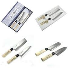 japanese kitchen knives set shimomura brand 2pcs japanese chefs kitchen knife set hocho su55