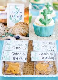 Nautical Theme Babyshower - out to sea