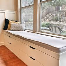 Small Bedroom Sitting Bench Minimalist Window Seat A Simple Element With Grand Value