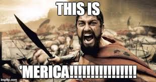 Merica Meme - sparta leonidas meme imgflip