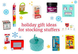 Ideas For Stocking Stuffers Holiday Gift Ideas For Stocking Stuffers Yoyomama