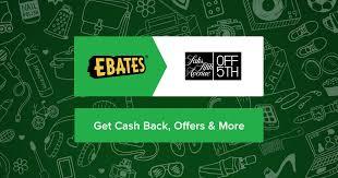 Faucet Direct Promo Code Saks Off 5th Coupons Promo Codes U0026 4 0 Cash Back Ebates
