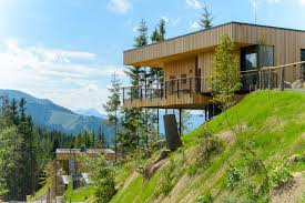 deluxe mountain chalets viereck architects archdaily