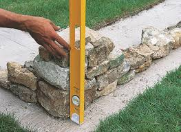 how to build a stone garden wall help u0026 ideas diy at b u0026q