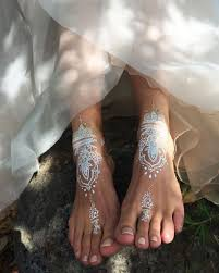image result for white henna feet projects to try pinterest