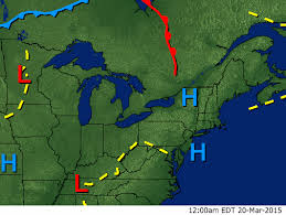 weather fronts map northeast fronts surface map wrcbtv com chattanooga