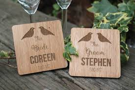 wedding coasters wedding coasters pesonalised wedding couples gift lasaris