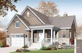 House With Garage One Story House Plans With Garage U0026 One Level Homes With Garage