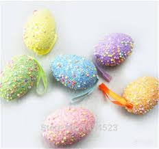 styrofoam easter eggs aliexpress buy 6pcs lot foam easter eggs decoration happy