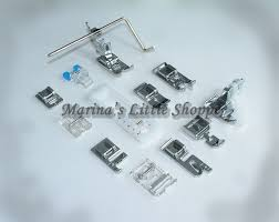 low shank presser feet foot attachments set for singer sewing