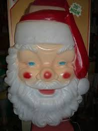 outdoor plastic lighted santa claus even more cabinet top decor christmas blow molds pinterest