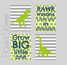 Dinosaur Nursery Decor Nursery Wall Picmia