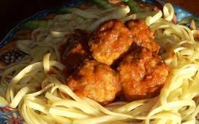 cuisiner boulette de viande recette boulettes de viande aux linguini 750g