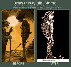 Dada Meme - draw this again meme dada by zetsubouzed on deviantart