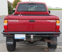 toyota tacoma tailgate 1995 5 2004 toyota 4runner road rear bumper with class 3 hitch