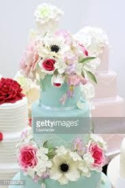 wedding cake display vintage wedding cake display stock photo getty images