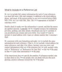 What To Include On Your Resume Should You Add Reference List On Your Resume