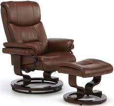 Brown Leather Recliner Chairs Buy Serene Moss Chestnut Faux Leather Recliner Chair Online Cfs Uk