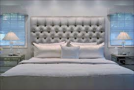 Headboards Bed Frames Bedroom Marvelous Tufted Upholstered Headboard King Cushion
