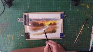 paint your own watercolour greeting cards for selling on ebay